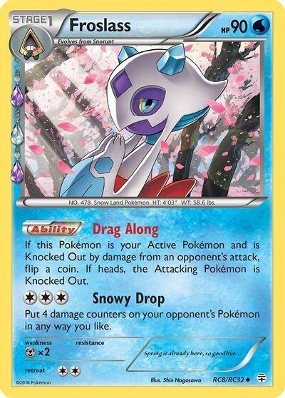 Pokemon Trading Card: XY - Generations - Froslass RC8/RC32