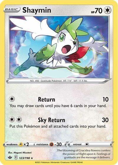 Pokemon Trading Card: Chilling Reign - Shaymin 123/198