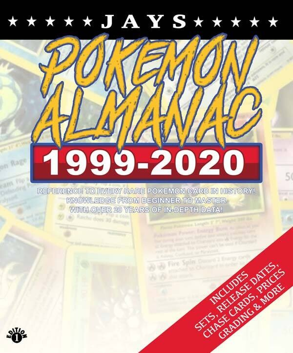 Jays Pokemon Almanac - 20 Years of History [FIRST EDITION]: Details on every rare card, plus promos, misprints, error cards and much more! [Paperback] Book