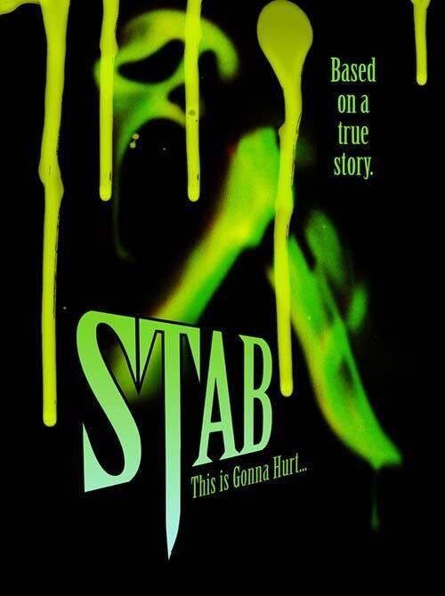 STAB (SCREAM: The Woodsboro Murders) Hardback Book [Horror Movie Prop Replica]