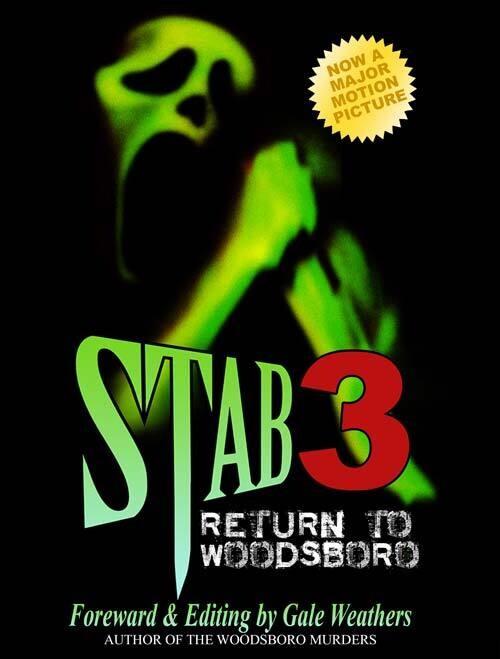 STAB 3 (SCREAM: The Woodsboro Murders by Gale Weathers) Hardback Book [Horror Movie Prop Replica]