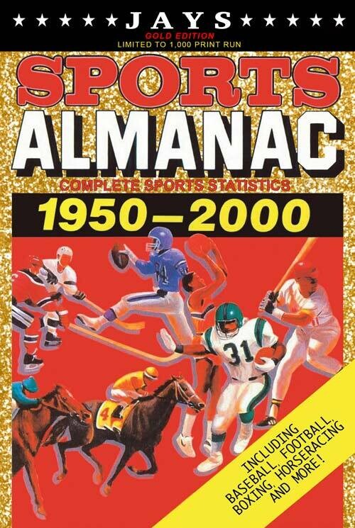 Jays Sports Almanac: Complete Sports Statistics 1950-2000 [Gold Edition - LIMITED TO 1,000 PRINT RUN] Back to the Future Movie Prop Replica