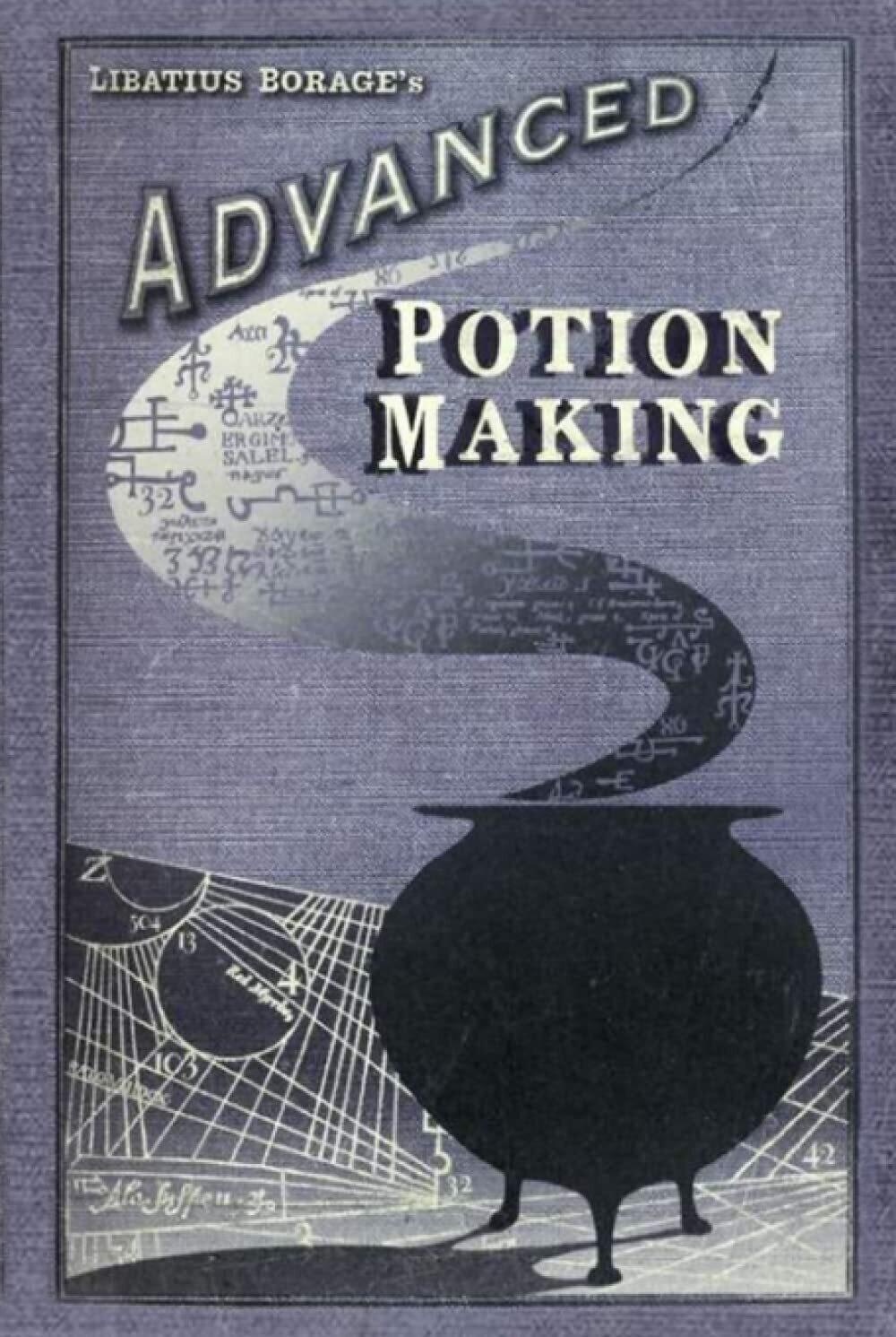 Advanced Potion Making [Wizardry & Magic - Harry Potter Hogwarts] Hardback Book - Movie Prop Replica