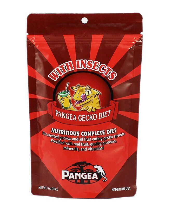 Pangea Gecko Diet Food Mix [Original with Insects] [16oz]