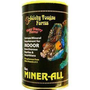 Miner-All Gecko Reptile Calcium & Mineral Supplement [6oz]
