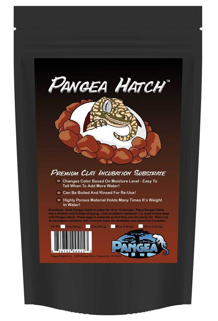 Pangea Hatch Reptile Gecko Incubation Substrate [4lb]