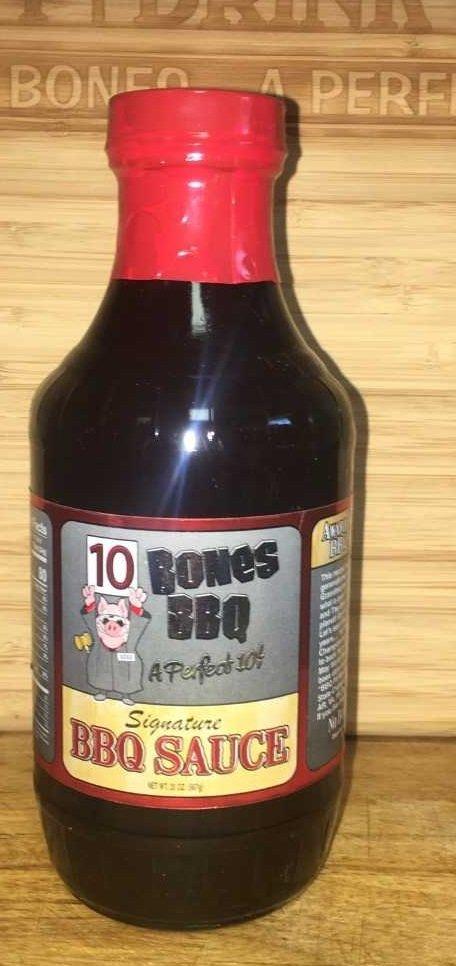 10 Bones Signature BBQ Sauce 20oz