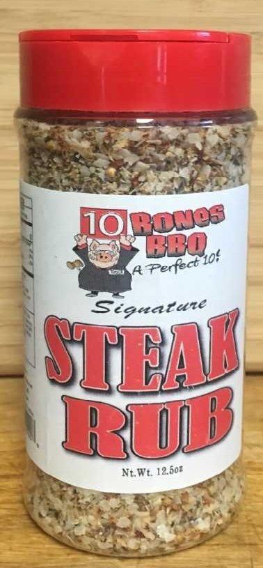 10 Bones Signature Steak Rub 12.5 Ounces