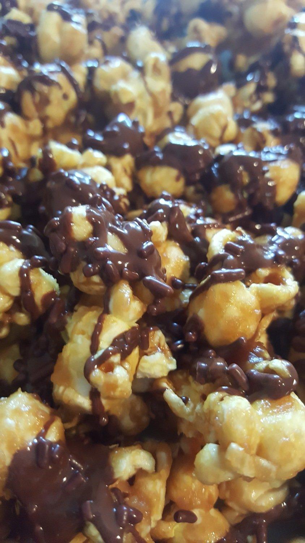 Bailey's Mudslide  Caramel Popcorn