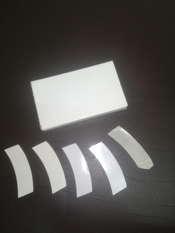 Biadesivo trasparente o telato bianco SCATOLA DA 45 PEZZI