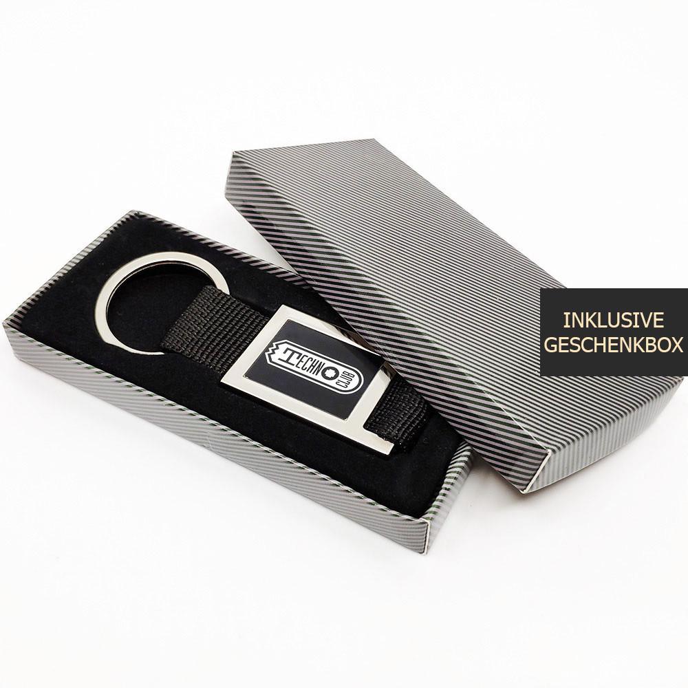 Technoclub Schlüsselanhänger mit Gurtband [NEW 2019]