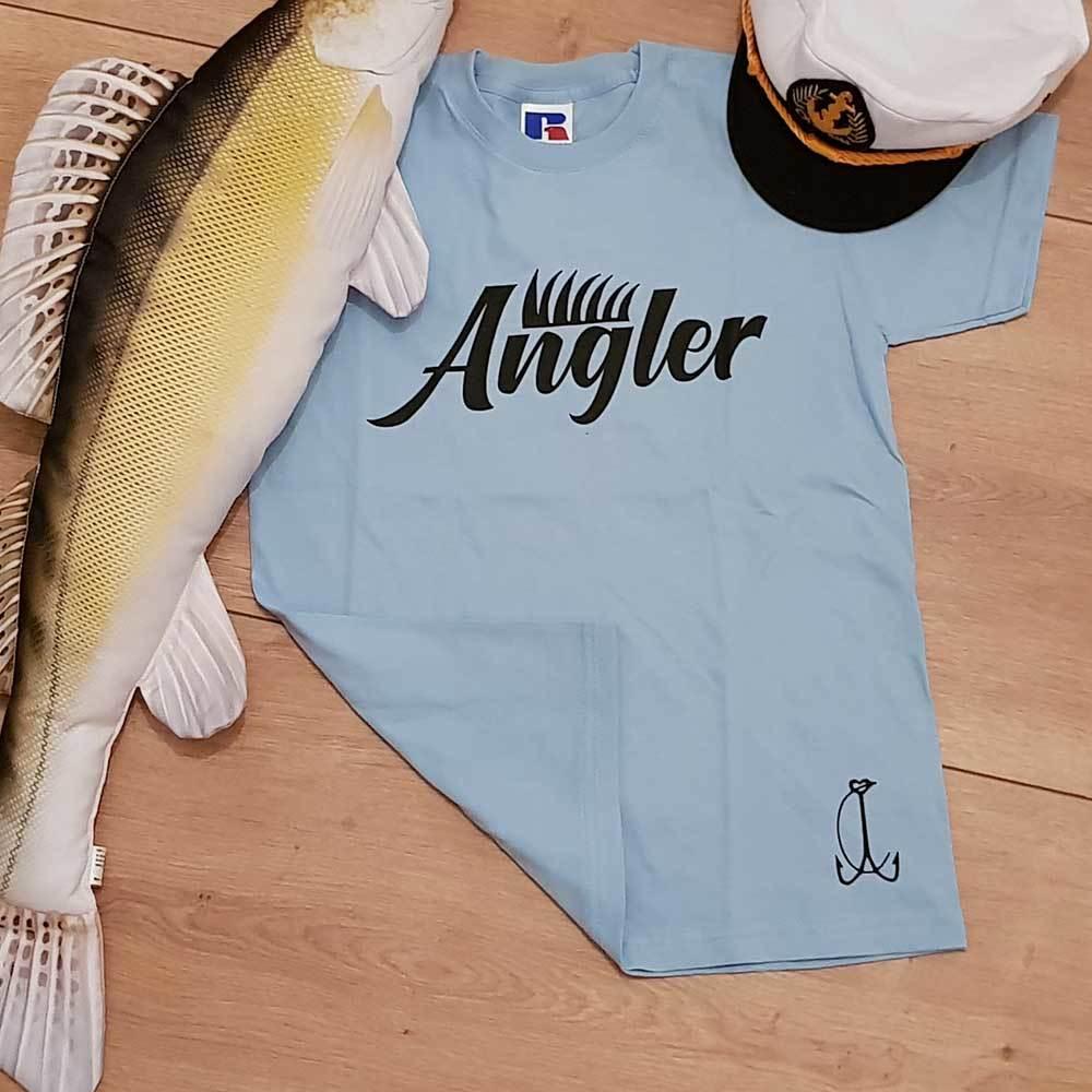 Angler Kinder T-Shirt Junge (Kindergröße 90 bis XXXL) M1-AA 91993