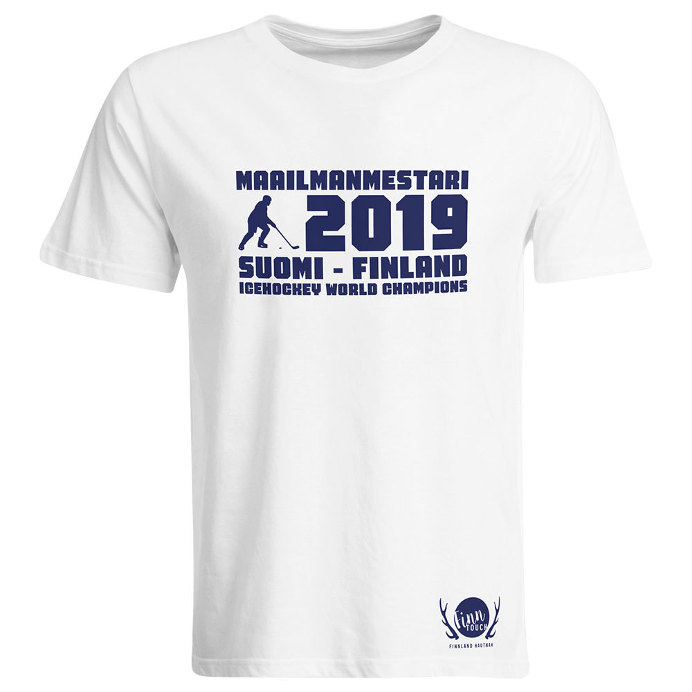 """Maailmanmestari 2019 Suomi Finland"" T-Shirt (Men)"