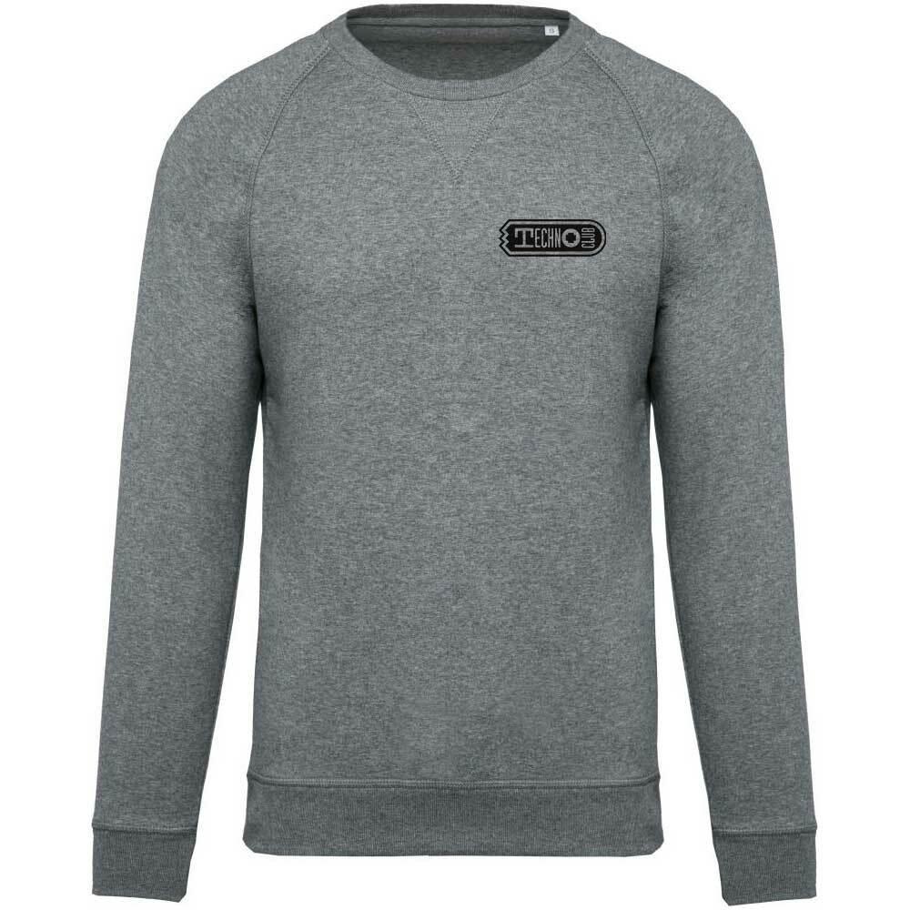 Technoclub Premium Pullover mit gesticktem V-Einsatz am Kragen 92105