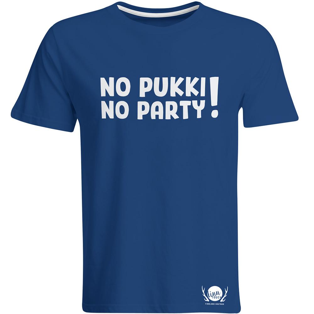"""""""No Pukki No Party!"""" T-Shirt (unisex) M1-FT 92125"""