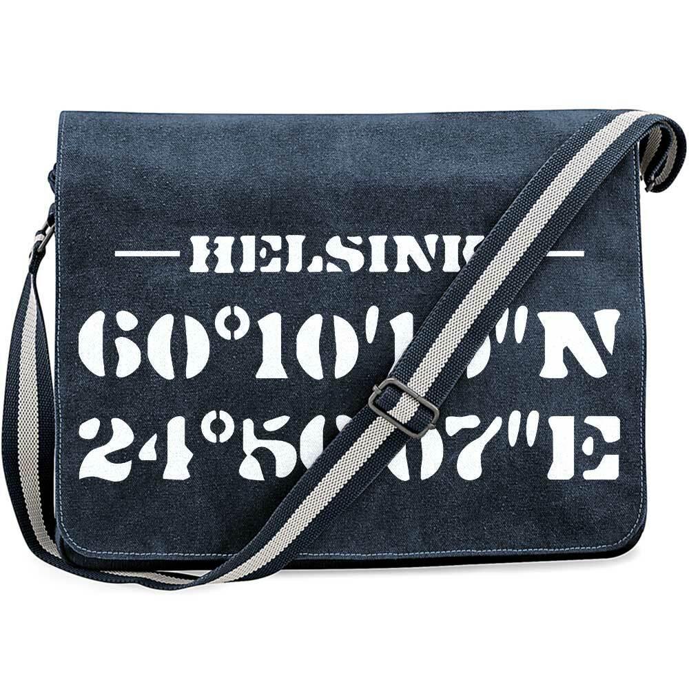 """Helsinki"" Premium Messengertasche im Vintagelook M1-FT 11184"