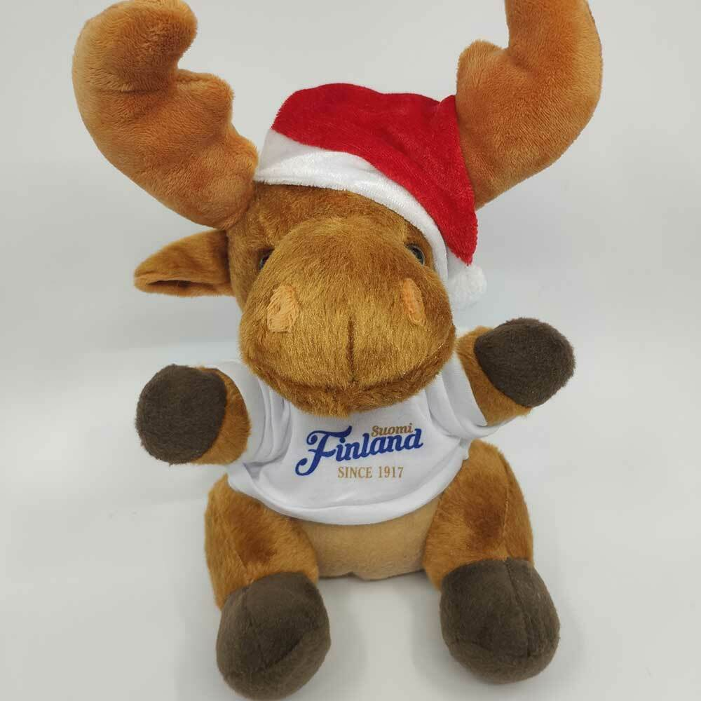 """Weihnachts-Elch """"Suomi Finland - since 1917"""""""