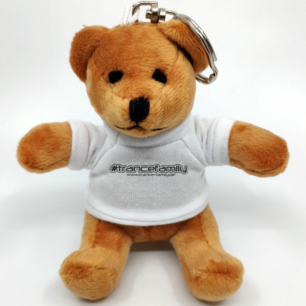 """#trancefamily"" Mini-Teddybär mit Schlüsselring M1-TFG 78299"