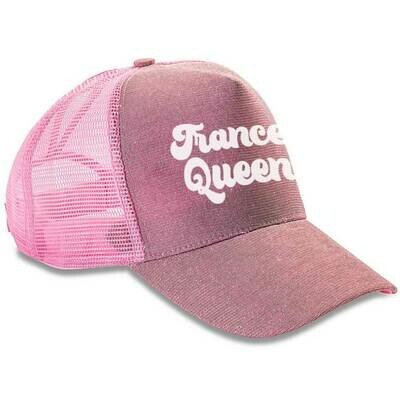 Trance Queen Sparkle Trucker Cap (Unisex)