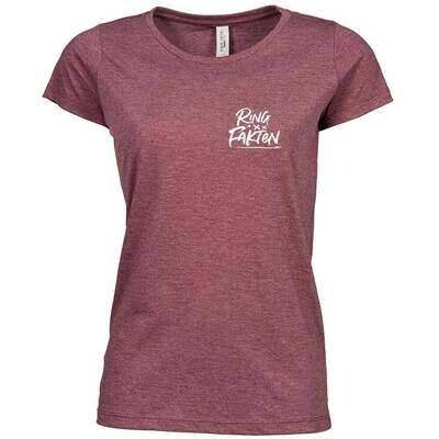 Ringfakten Premium Melange T-Shirt (Damen)