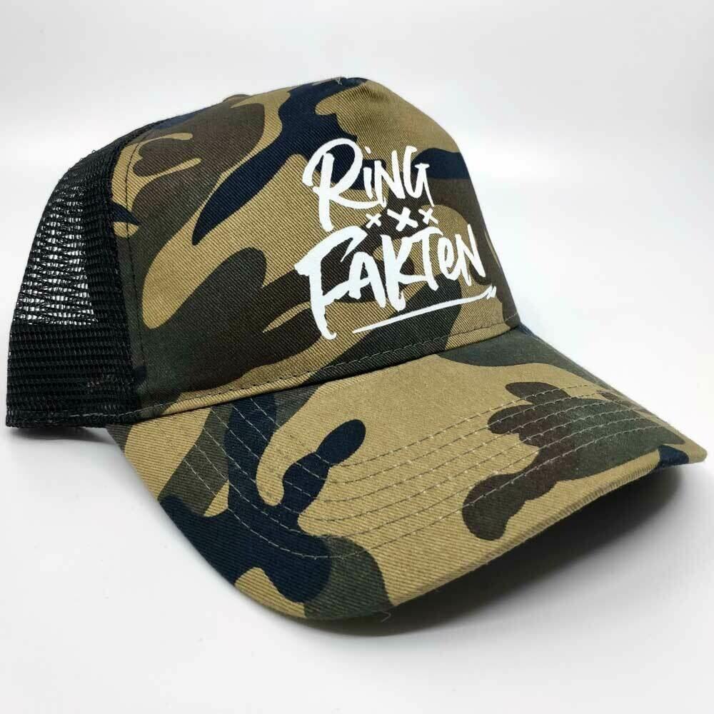 Ringfakten Camouflage Truckercap inkl. Geschenkbox