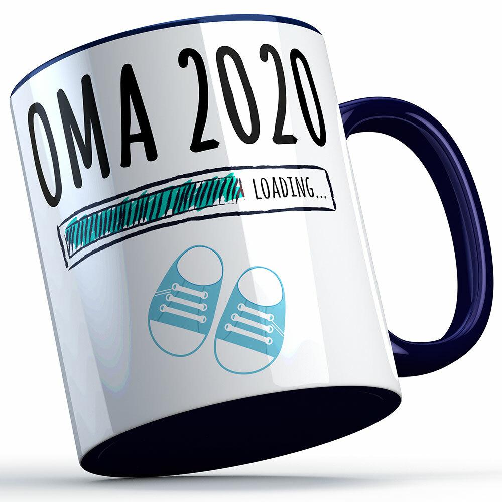 """Oma 2020 loading... (Junge)"" Tasse (4 Varianten) 92174"