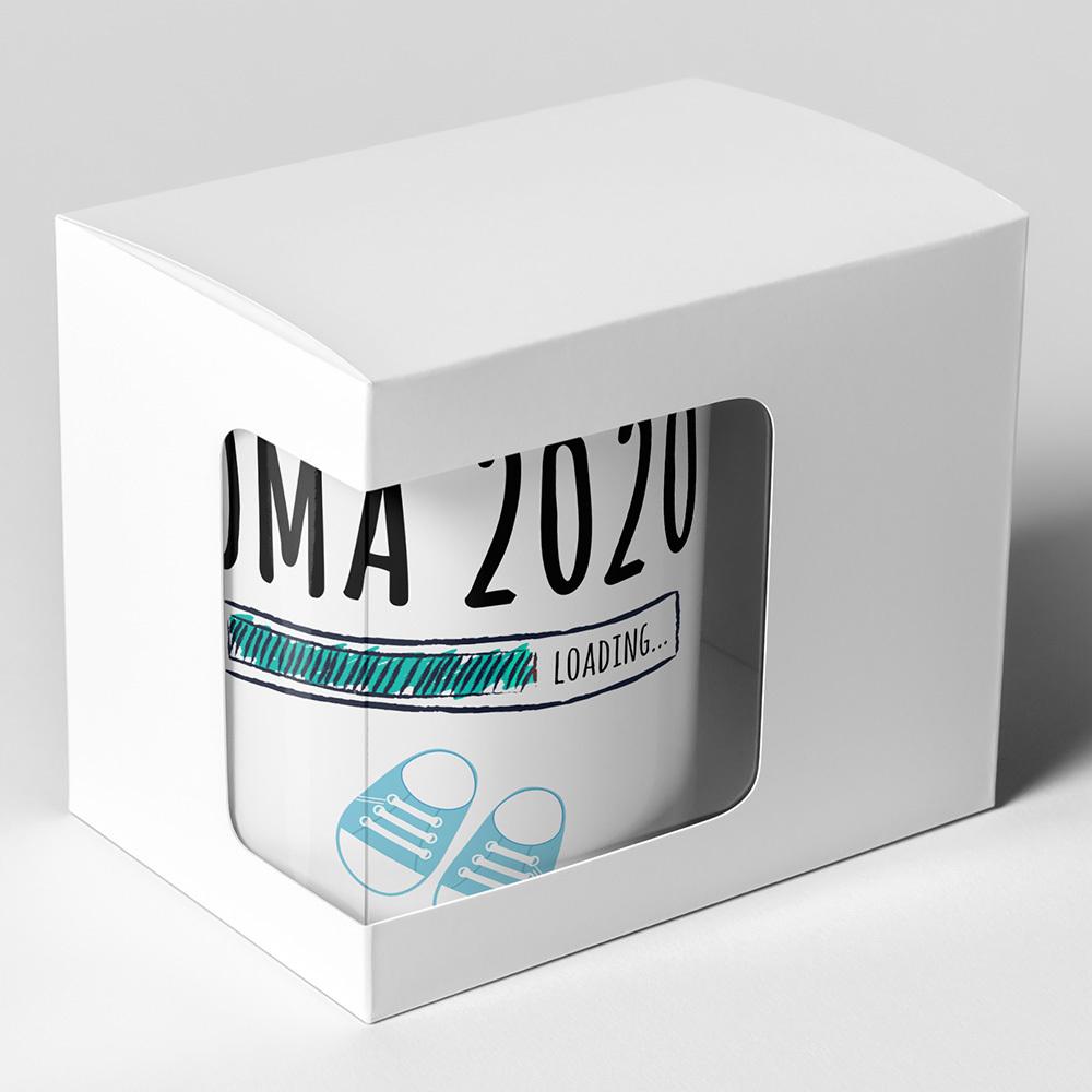 """Oma 2020 loading... (Junge)"" Tasse (4 Varianten)"
