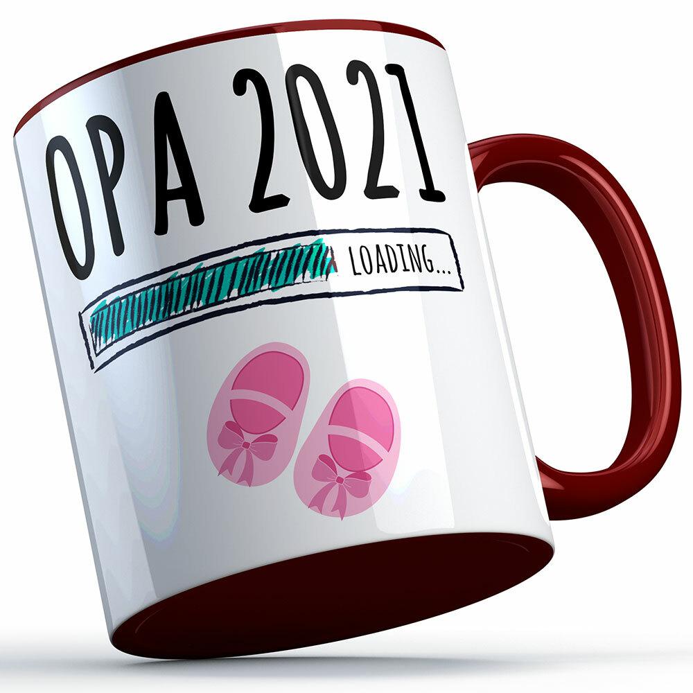 """Opa 2021 loading... (Mädchen)"" Tasse (5 Varianten)"