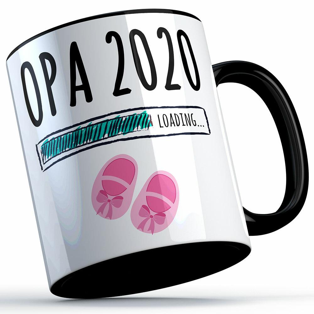 """Opa 2020 loading... (Mädchen)"" Tasse (5 Varianten) 92223"