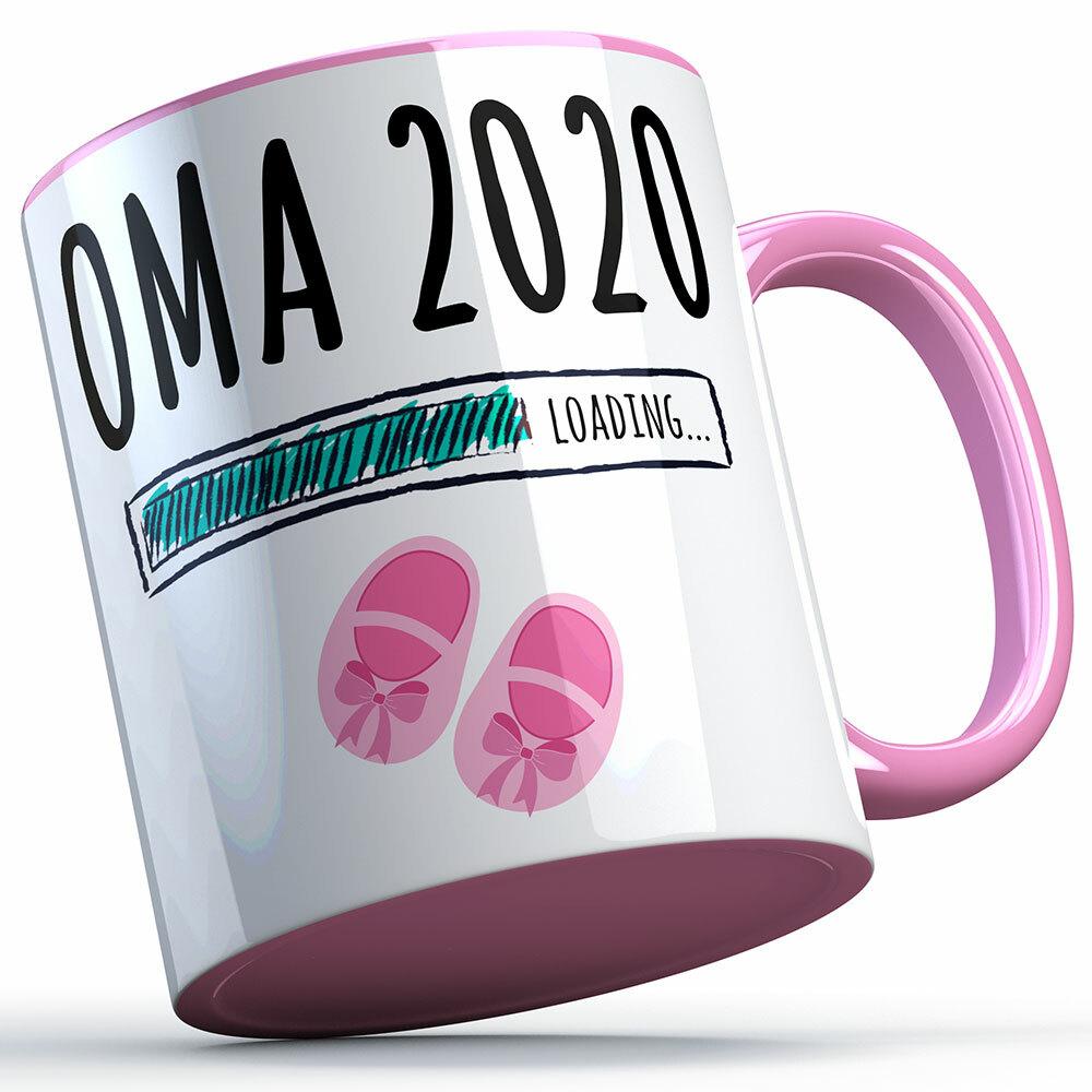 """""""Oma 2020 loading... (Mädchen)"""" Tasse (5 Varianten) 92225"""