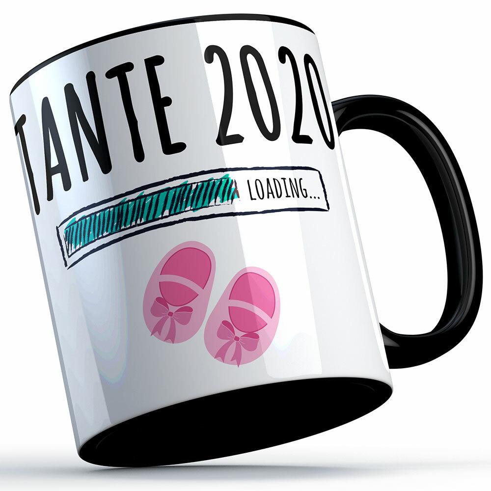 """Tante 2020 loading... (Mädchen)"" Tasse (5 Varianten)"