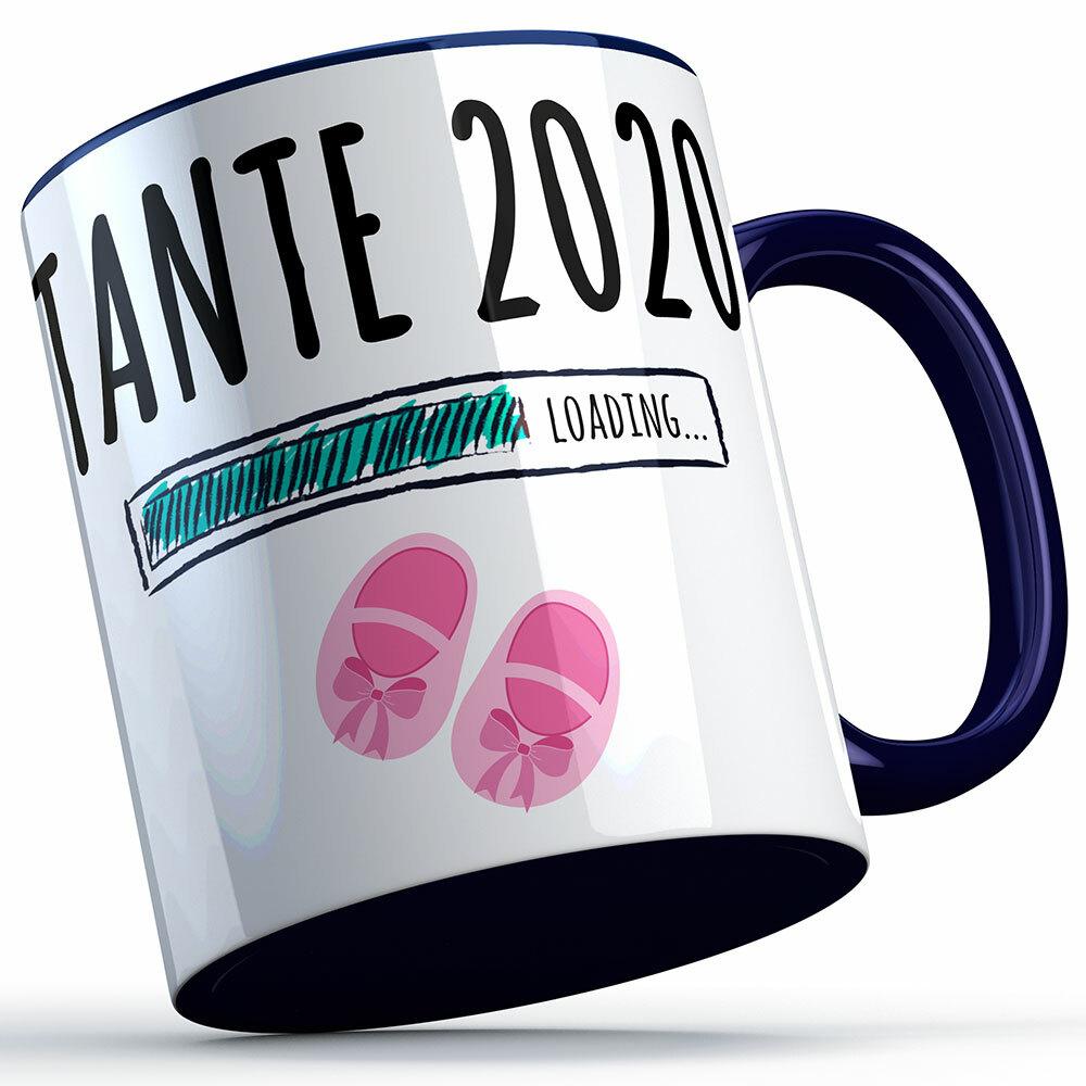 """Tante 2020 loading... (Mädchen)"" Tasse (5 Varianten) 92227"