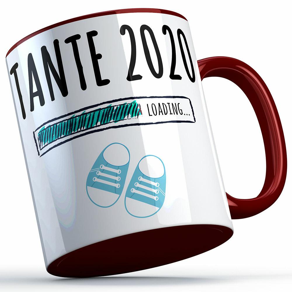 """""""Tante 2020 loading... (Junge)"""" Tasse (5 Varianten) 92229"""