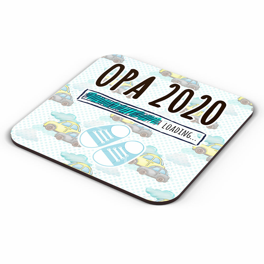 """Opa 2020 loading... (Junge)"" Tasse inkl. passendem Untersetzer (4 Varianten)"