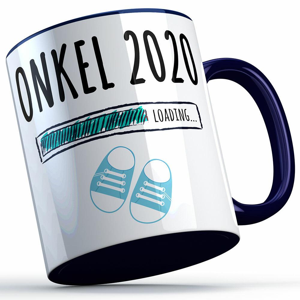 """""""Onkel 2020 loading... (Junge)"""" Tasse (4 Varianten) 92233"""