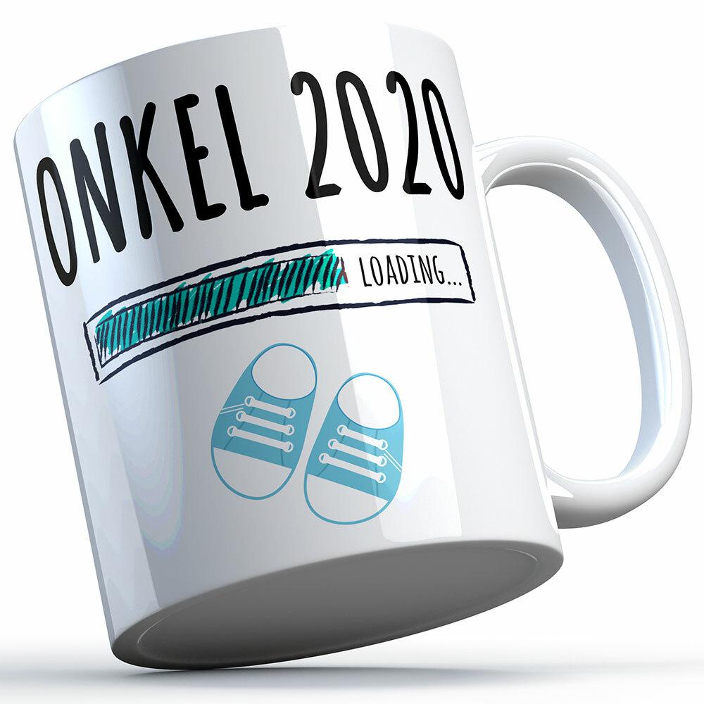 """""""Onkel 2020 loading... (Junge)"""" Tasse (4 Varianten)"""