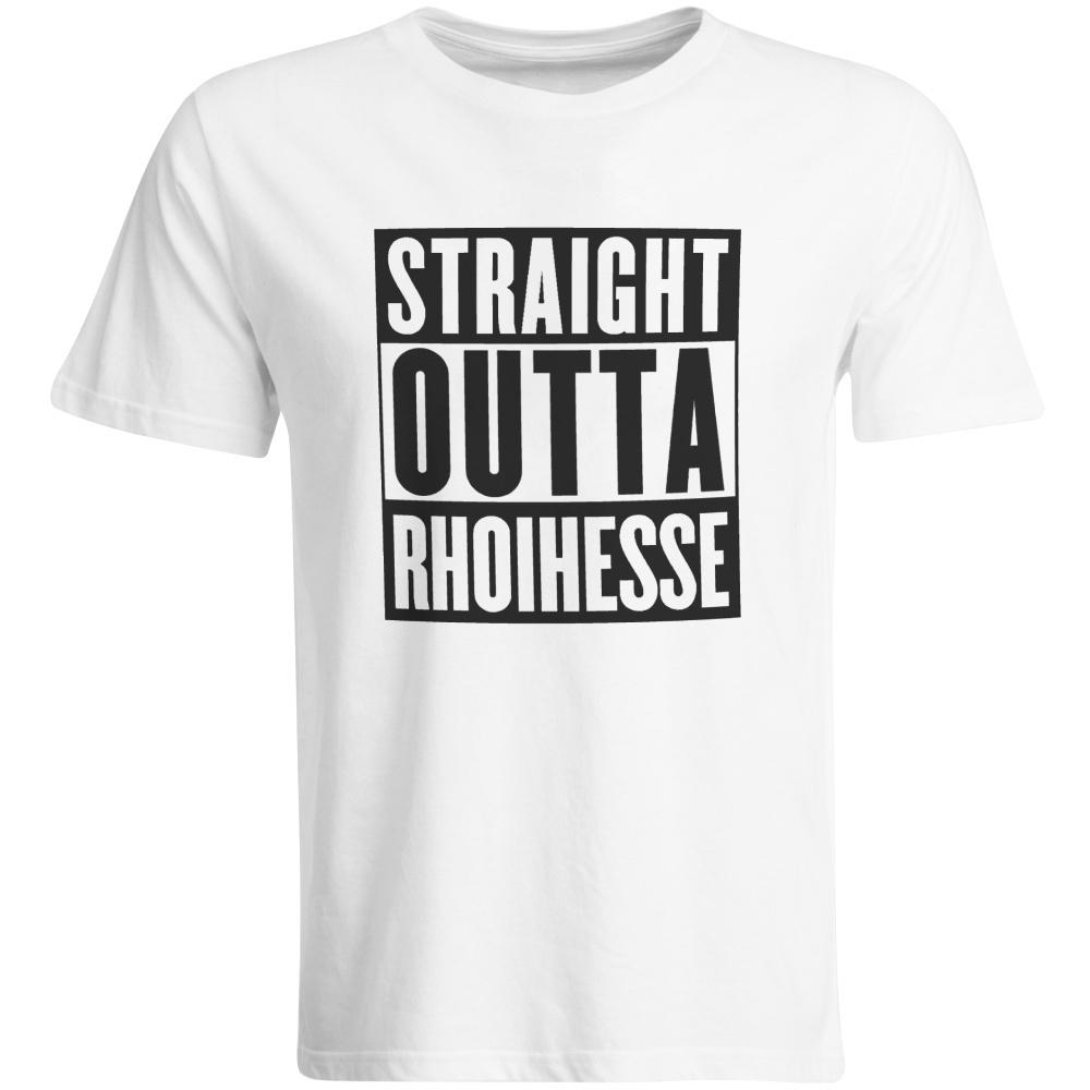 """Kinder T-Shirt """"Straight outta Rhoihesse"""" (Herren)"""