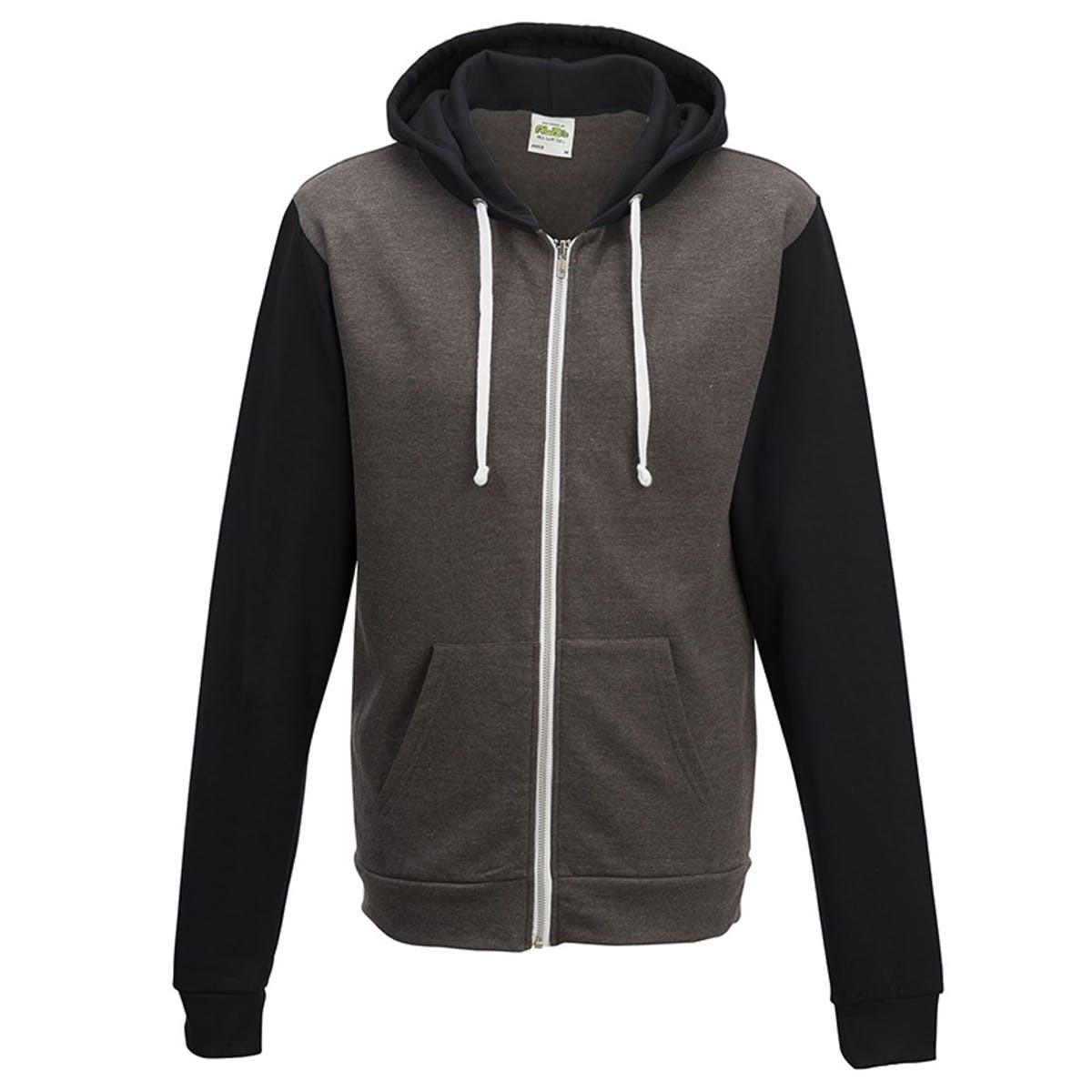 Two-Tone Zip Jacket 92300