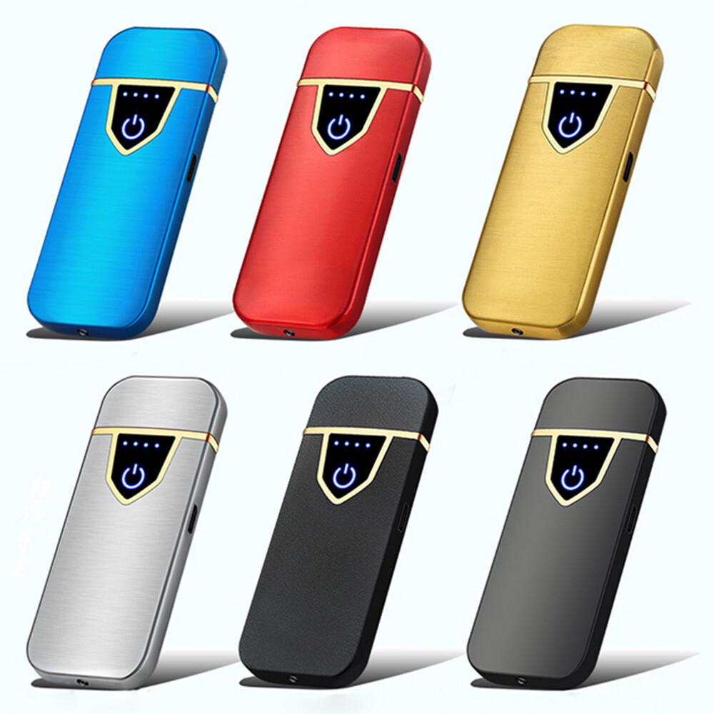 USB Lichtbogen Feuerzeug inkl. Micro USB Ladekabel und edler Geschenkbox (Verschiedene Farben)
