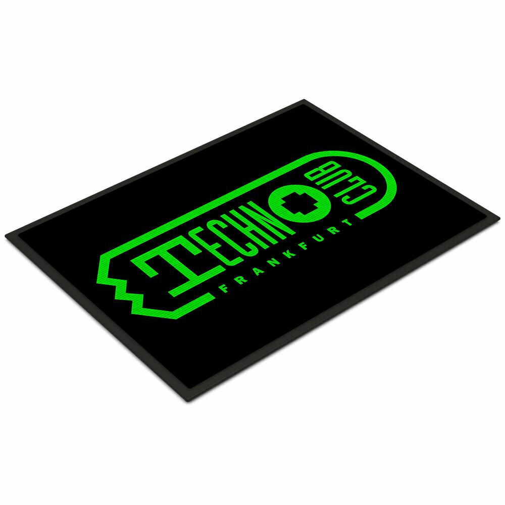 Technoclub Fußmatte (Größe 35 x 50 cm)