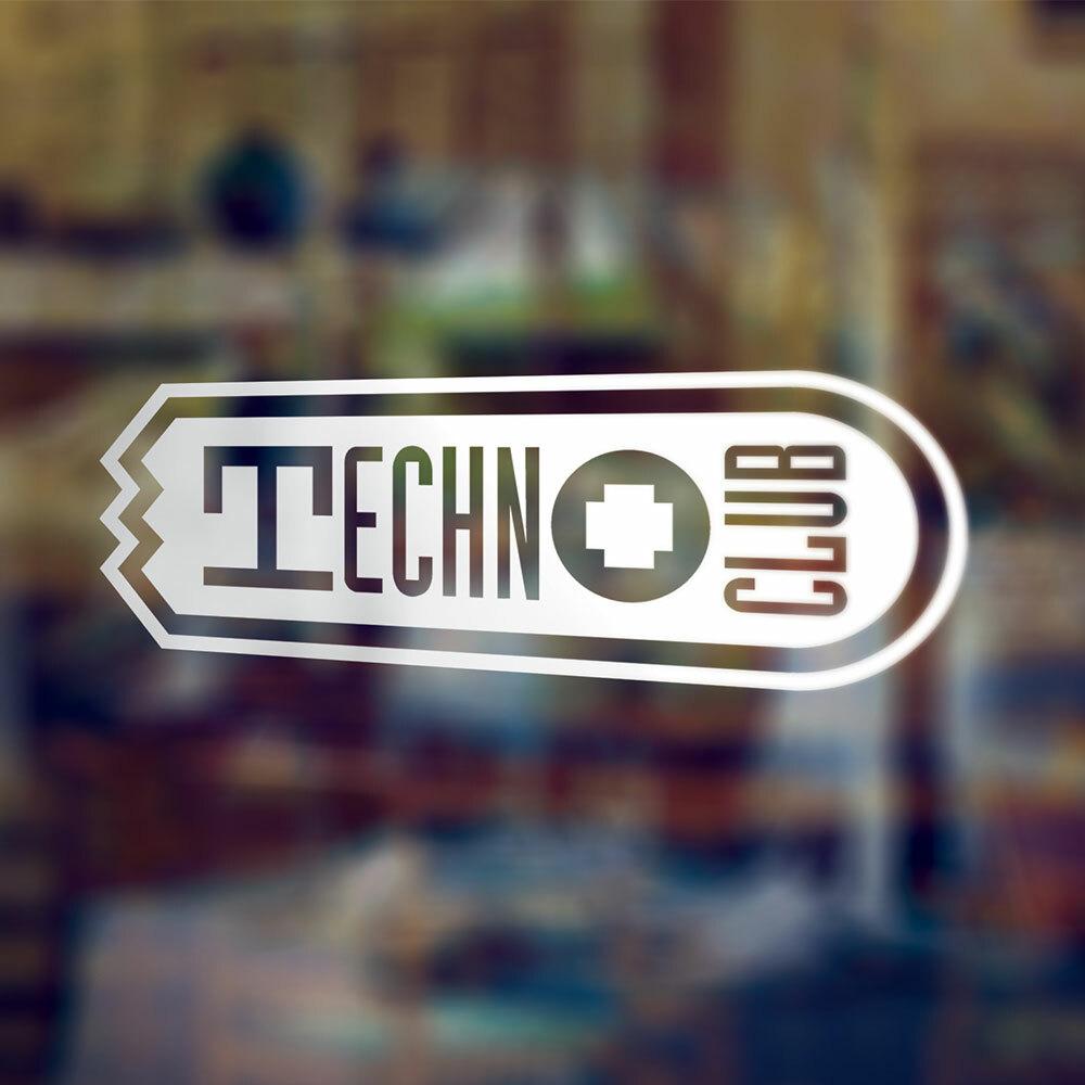 Technoclub XXL-Aufkleber (erhältlich in verschiedenen Größen)