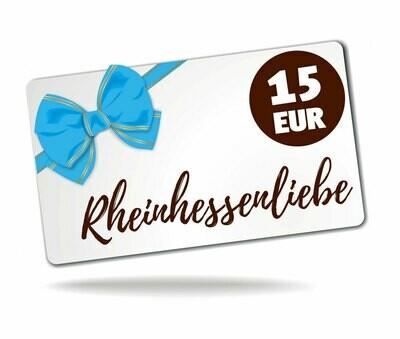 Geschenkgutschein für Rheinhessenliebe