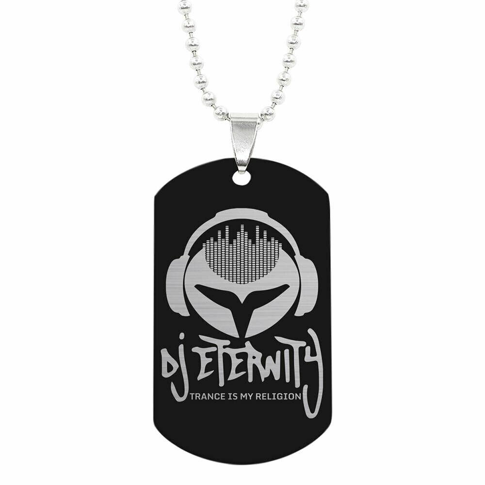 Halskette mit DJ Eternity ID-Tag Anhänger