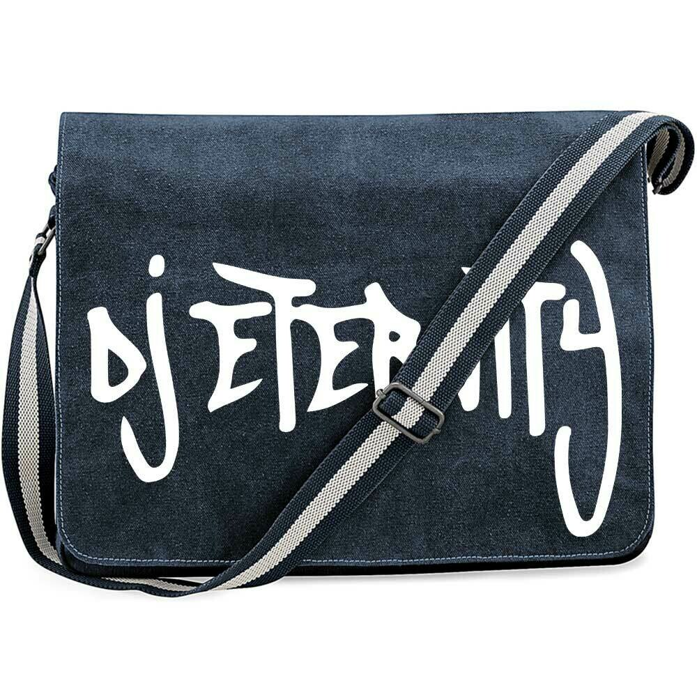 DJ Eternity Vintage Messenger Bag