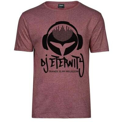 DJ Eternity Melange Premium T-Shirt (Men)