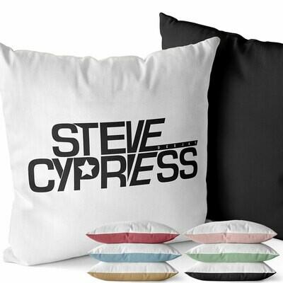 Steve Cypress Two-Tone Kissen (Erhältlich in sechs Farben)