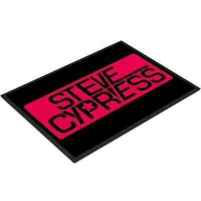 Steve Cypress Fußmatte Variante 1 (Größe 35 x 50 cm)