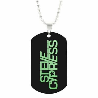 Halskette mit Steve Cypress ID-Tag Anhänger