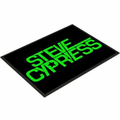 Steve Cypress Fußmatte Variante 2 (Größe 35 x 50 cm)