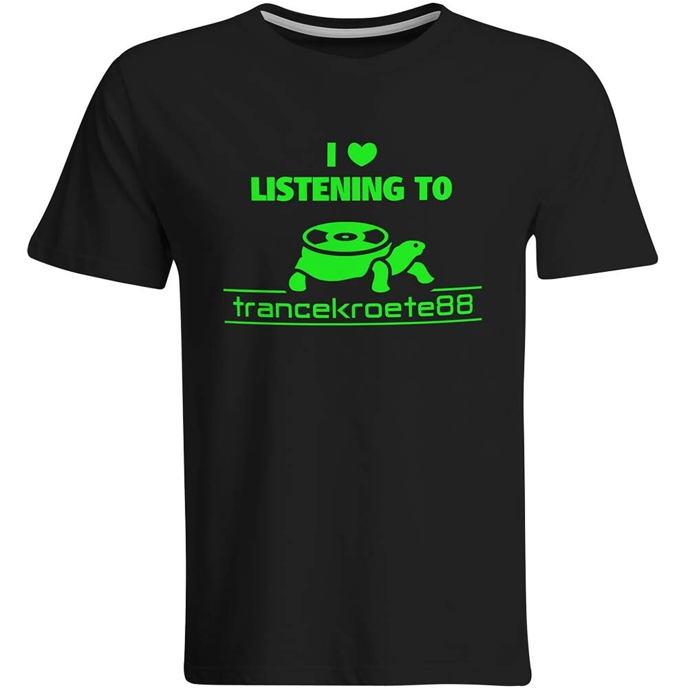 I love listening to Trancekroete88 T-Shirt (Mono Color / Men)
